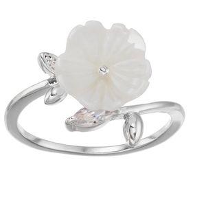 2/$15 New LC Lauren Conrad Flower Open Ring
